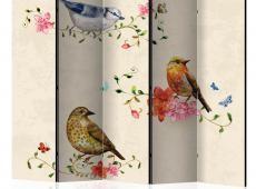 Paraván - Bird Song II [Room Dividers]